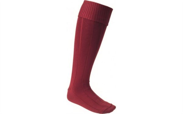 Batten House Sock Maroon