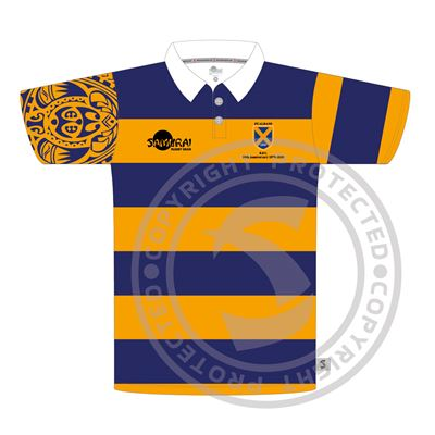 St Albans RFC, Sublimated Regular Fit Polo, Bespoke, Front