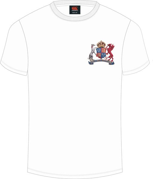 Ipswich School Plain Tee (White)