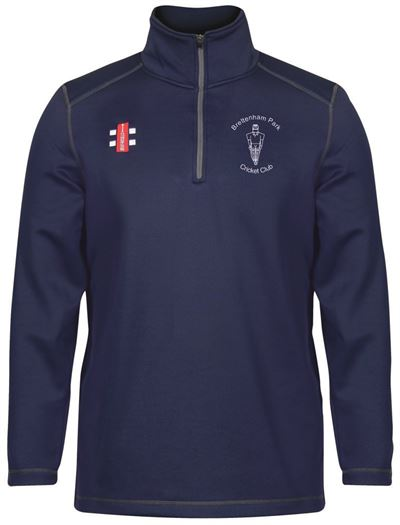 Brettenham Park CC fleece navy