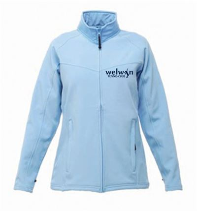 Regatta Ladies Softshell with logo