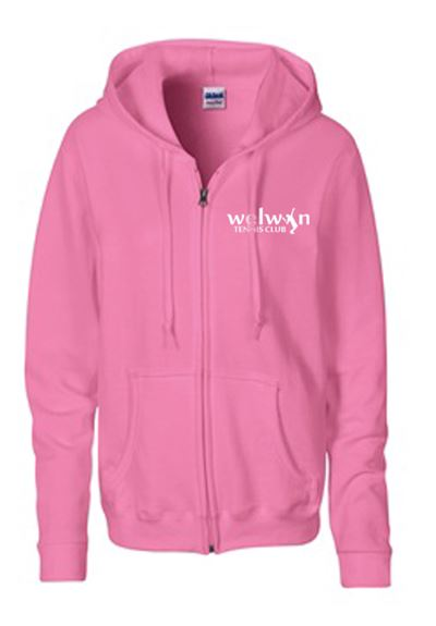 Ladies Heavyweight Hoody with logo