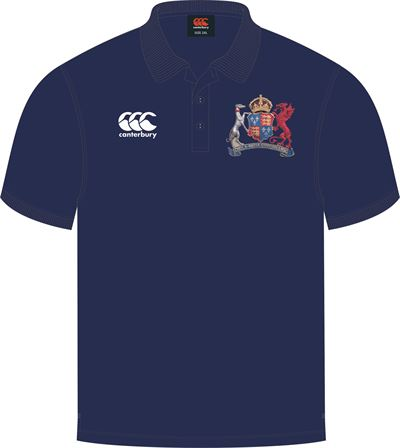 Ipswich School waimak Polo (Navy)