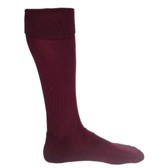 MAROON SOCK - LARGE