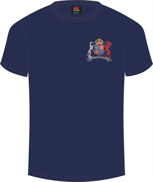 Ipswich School Plain Tee (Navy)